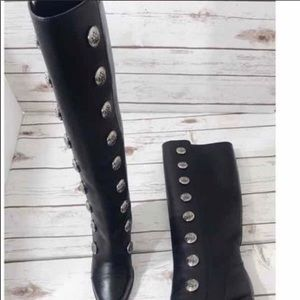 Michael Kors Chapman Calf Leather Boot Brand New